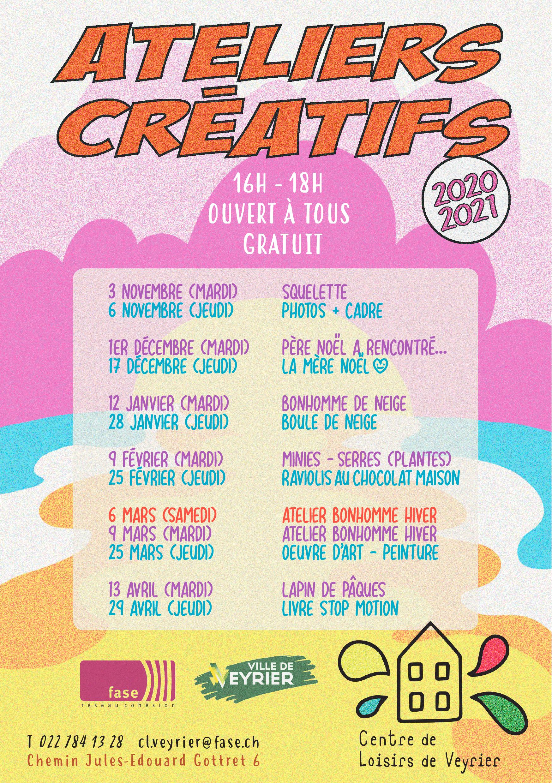 Flyer ACréatifs CLV
