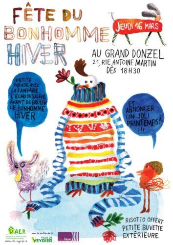 Flyer Fête du Bonhomme Hiver